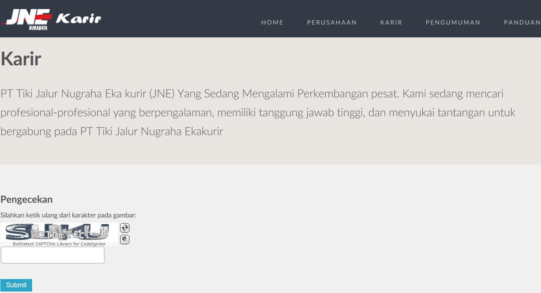 JNE Cabang Surabaya Membuka Banyak Lowongan Kerja Hingga 30 Juni 2018 Pendaftaran Dilakukan Secara Online