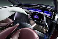 Toyota Fine-Comfort Ride Concept (2017) Dashboard