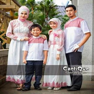 baju lebaran keluarga sby