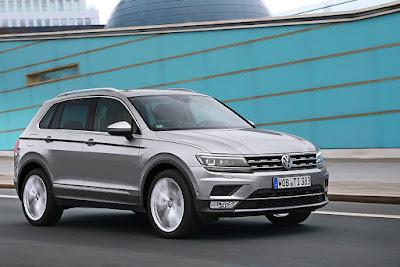 """Euro NCAP 2016: Στο Volkswagen Tiguan ο τίτλος του """"Best in Class"""""""