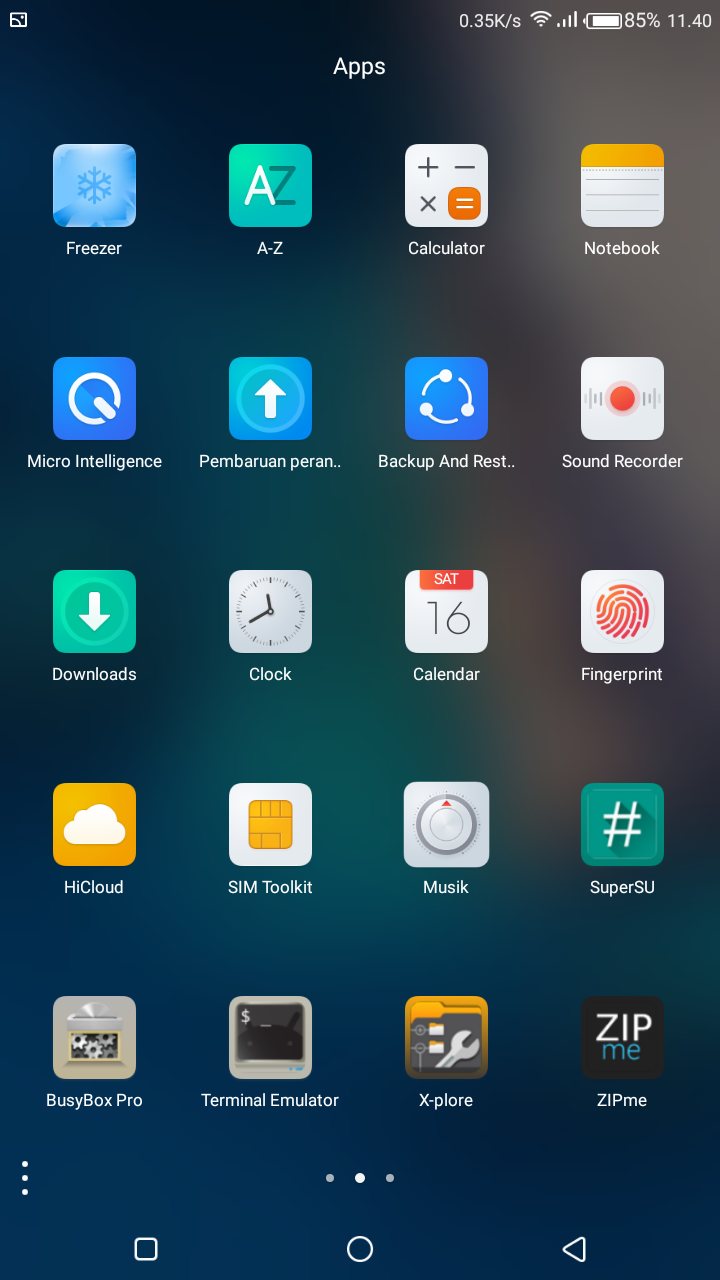 User Bootloop: Custom Rom HiOS N v2 2 0 For Asus Zenfone 3 Max