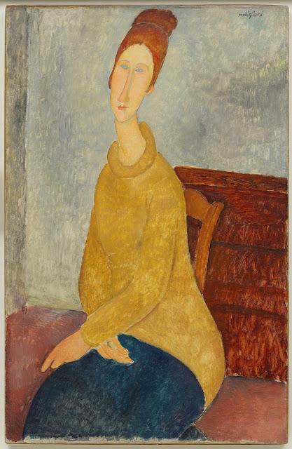 Modern Art print Press mark ed limited Nude on a Blue Cushion by Amedeo Modigliani LITHO Print Idea