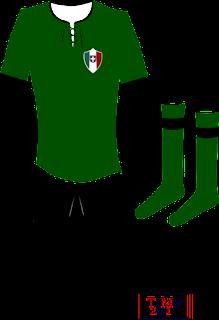 La mitica maglia verde che esordì nel 1925, nella terza sfida contro il Genoa a Milano, in una mia elaborazione grafica.