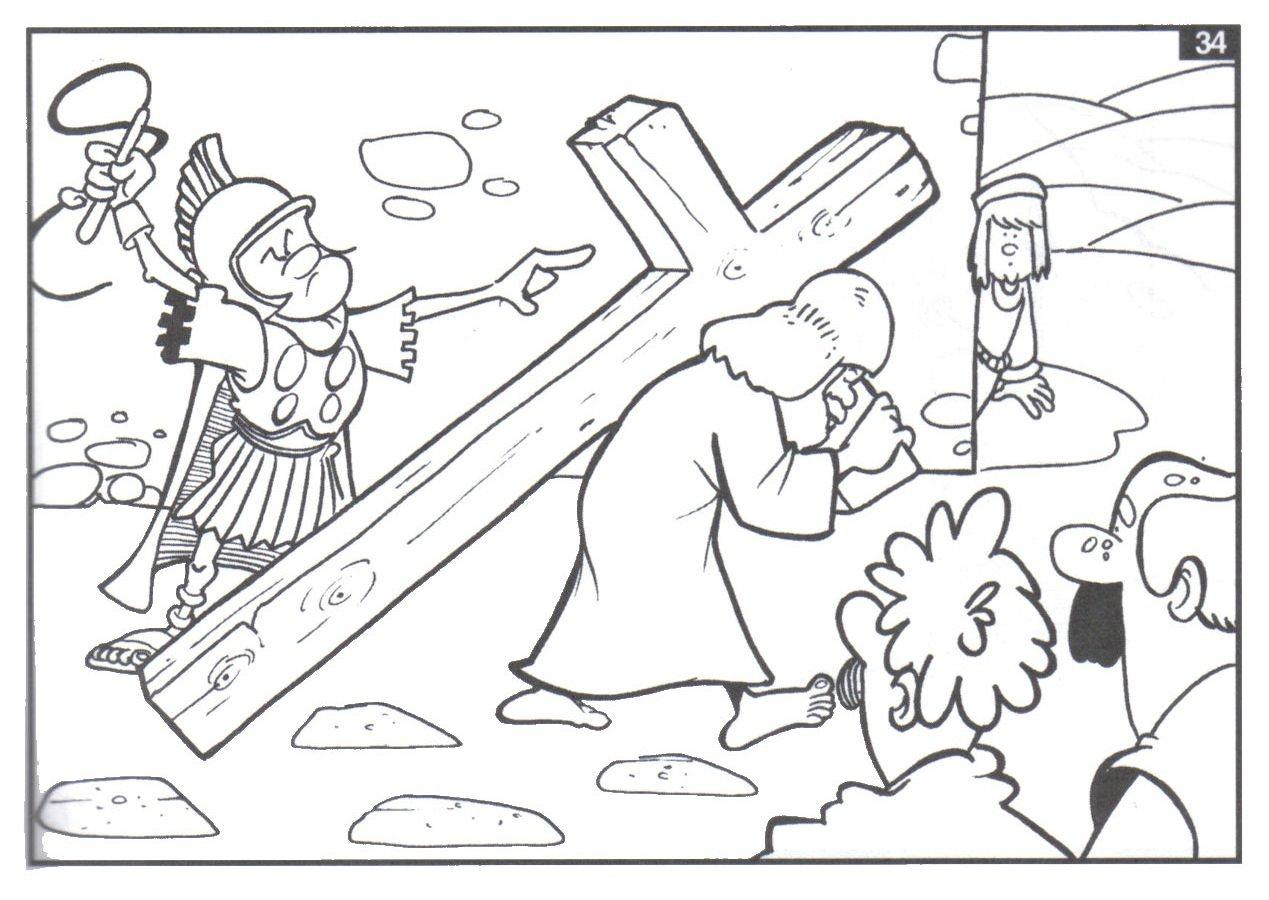Imagenes Dibujos Para Colorear Para Semana Santa