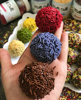 Ide Resep Masak Kue Colorful Choco Balls Truffle