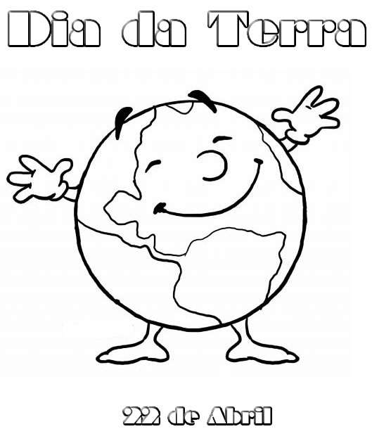 100 Atividades Dia Da Terra Exercicios Desenhos Colorir Imprimir