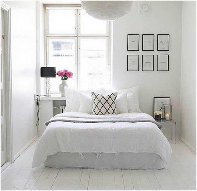 Bild Weißes Schlafzimmer Romantisch Moderne Betten Design So Hell Und Hübsch