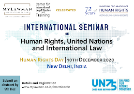 Int Seminar on HR, UN & Int Law