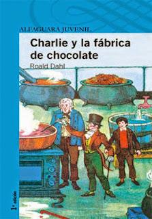 """Reseña de """"Charlie y la fabrica de chocolates"""" - Roald Dahl"""