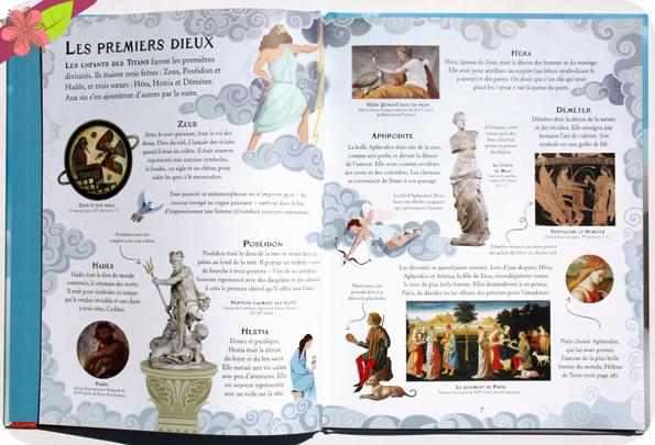 Les mythes grecs, livre illustré publié en 2017 par les éditions Usborne