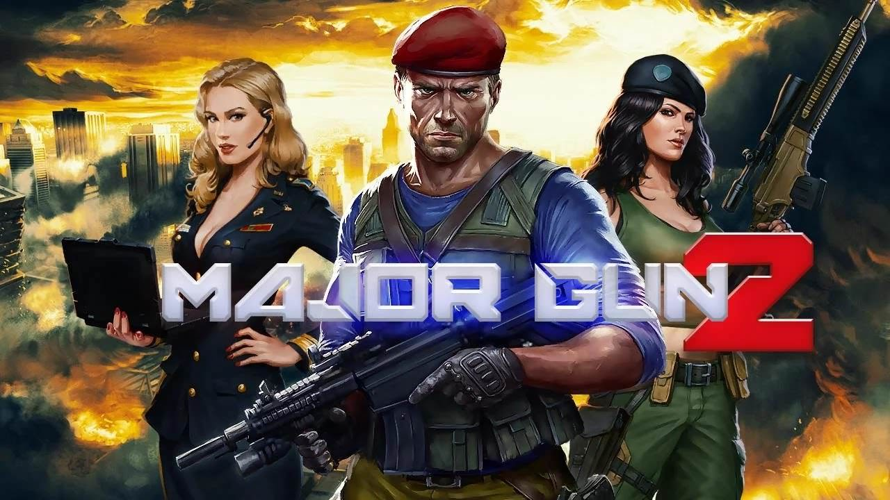 major gun 2 war on terror android para madalya level hilesi apk indir