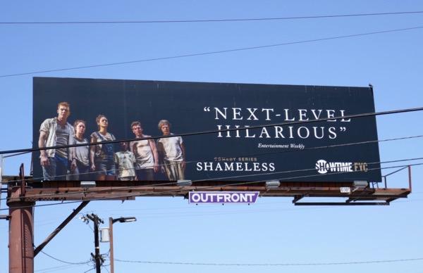 Shameless 2018 Emmy FYC billboard