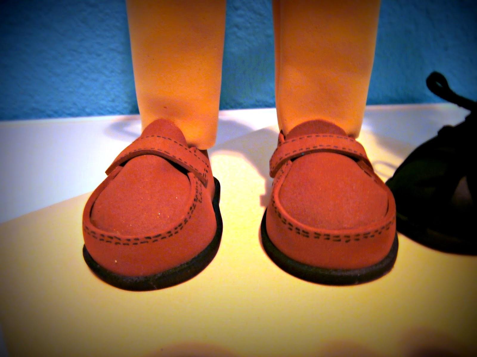zapato mocasín goma eva