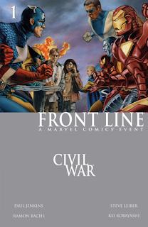 Civil War Front Line #1 Cover