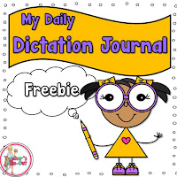 Free Daily Dictation Journal for Primary