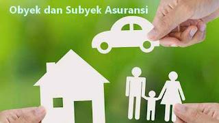 objek dan subjek asuransi