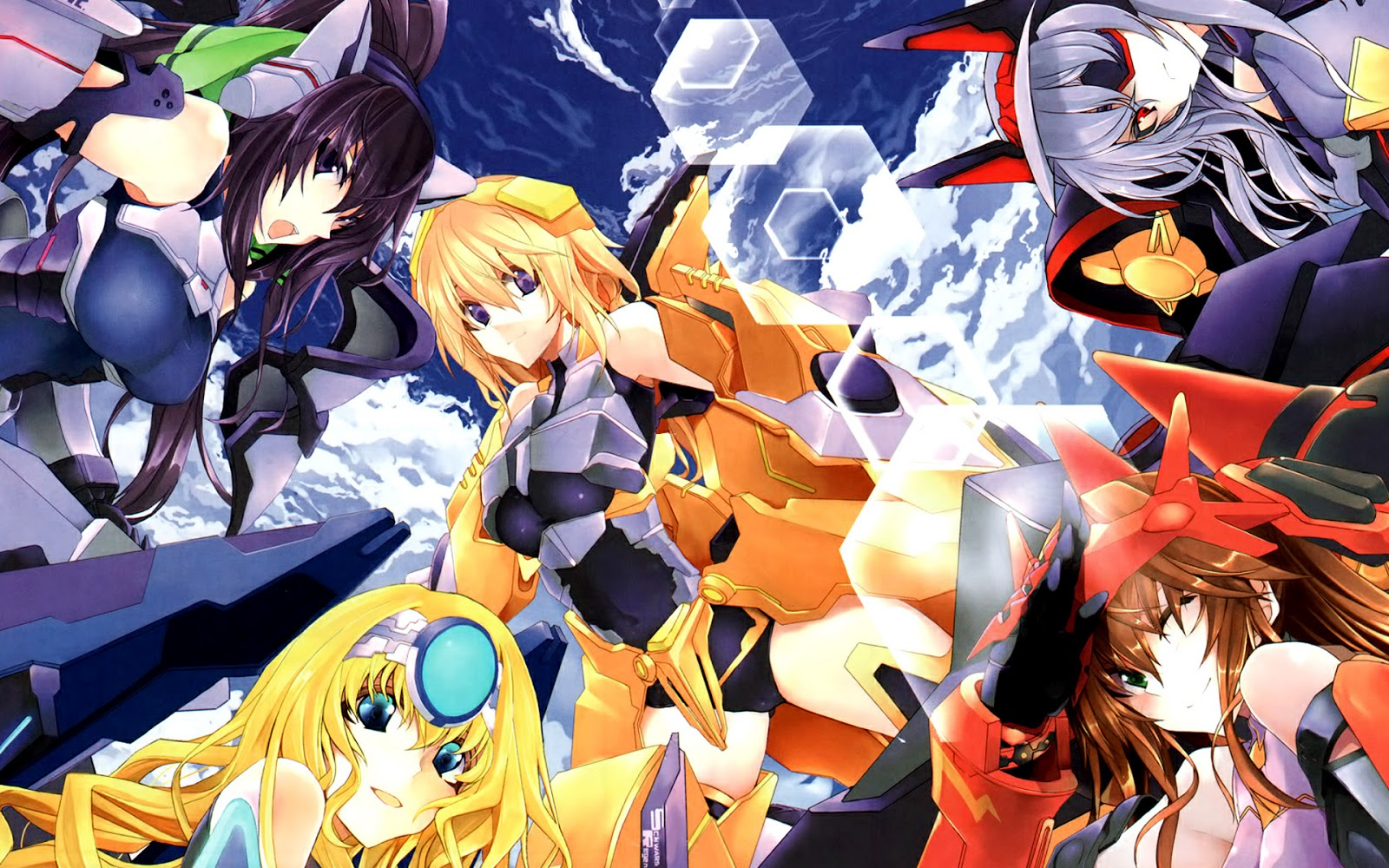 Infinite Stratos (Wallpapers)