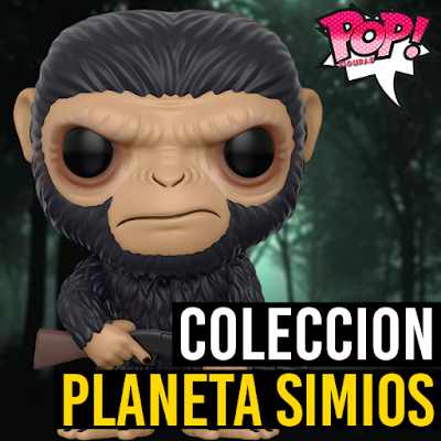 Lista de figuras funko pop de Funko POP El planeta de los simios