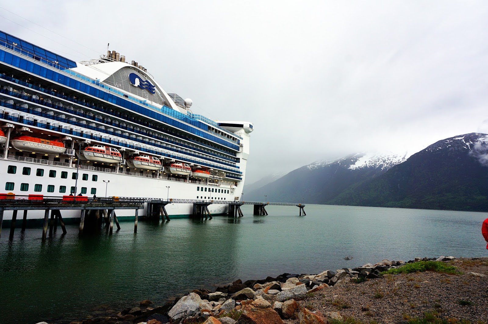 skagway port alaskan cruise review