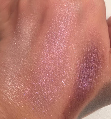 swatch Palette Glitter Bomb de Too Faced