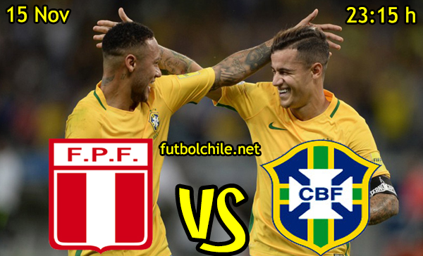 Ver stream hd youtube facebook movil android ios iphone table ipad windows mac linux resultado en vivo, online: Perú vs Brasil