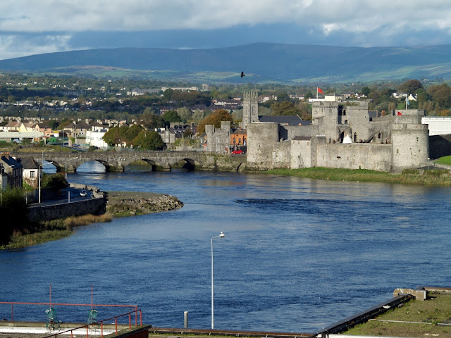 Limerick Ireland view of the castle