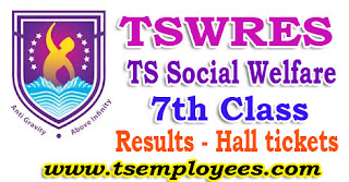 Tswreis 7th Class Entrance Test Results 2017 Hall tickets Social Welfare Residential Schools Common Entrance Test 2017
