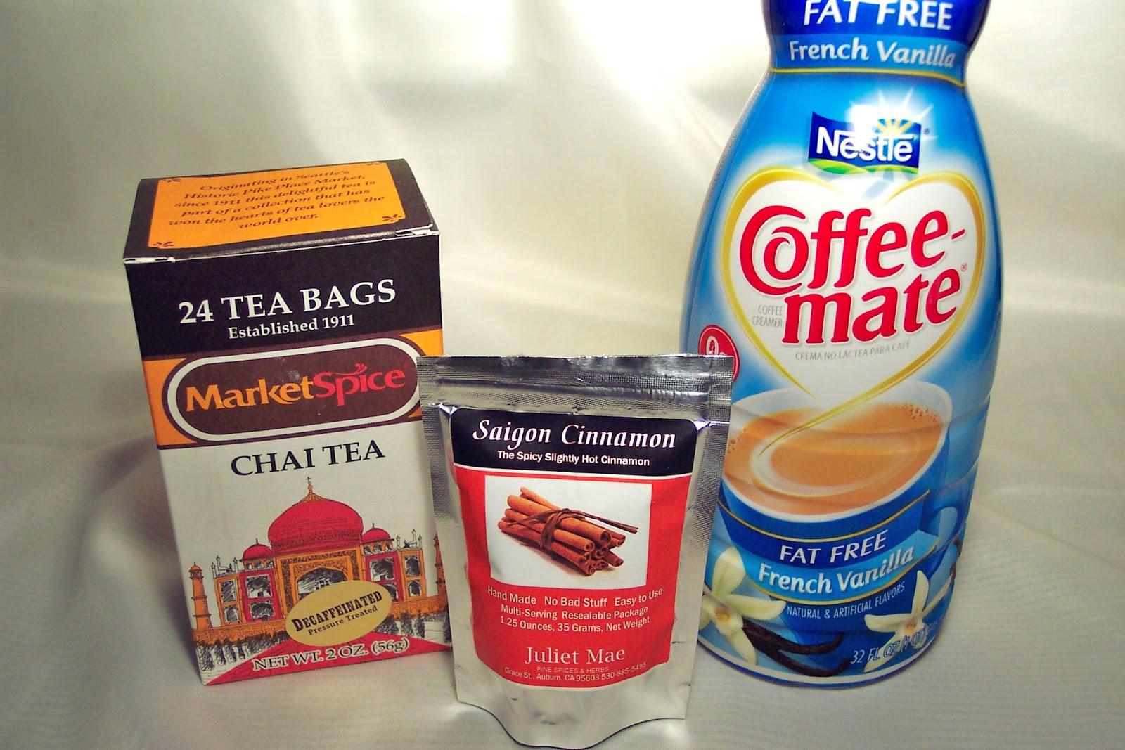 My Recipe Journey: Iced Chai Tea