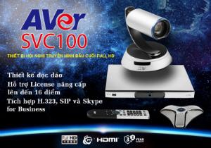 giải pháp hội nghị truyền hình mới AVer SVC100