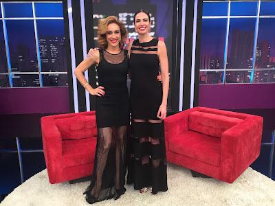 Cynthia Benini e Luciana Gimenez - Crédito/Foto: Divulgalção/RedeTV!