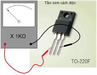 Hình 8e - Nạp âm cho G để khoá đèn