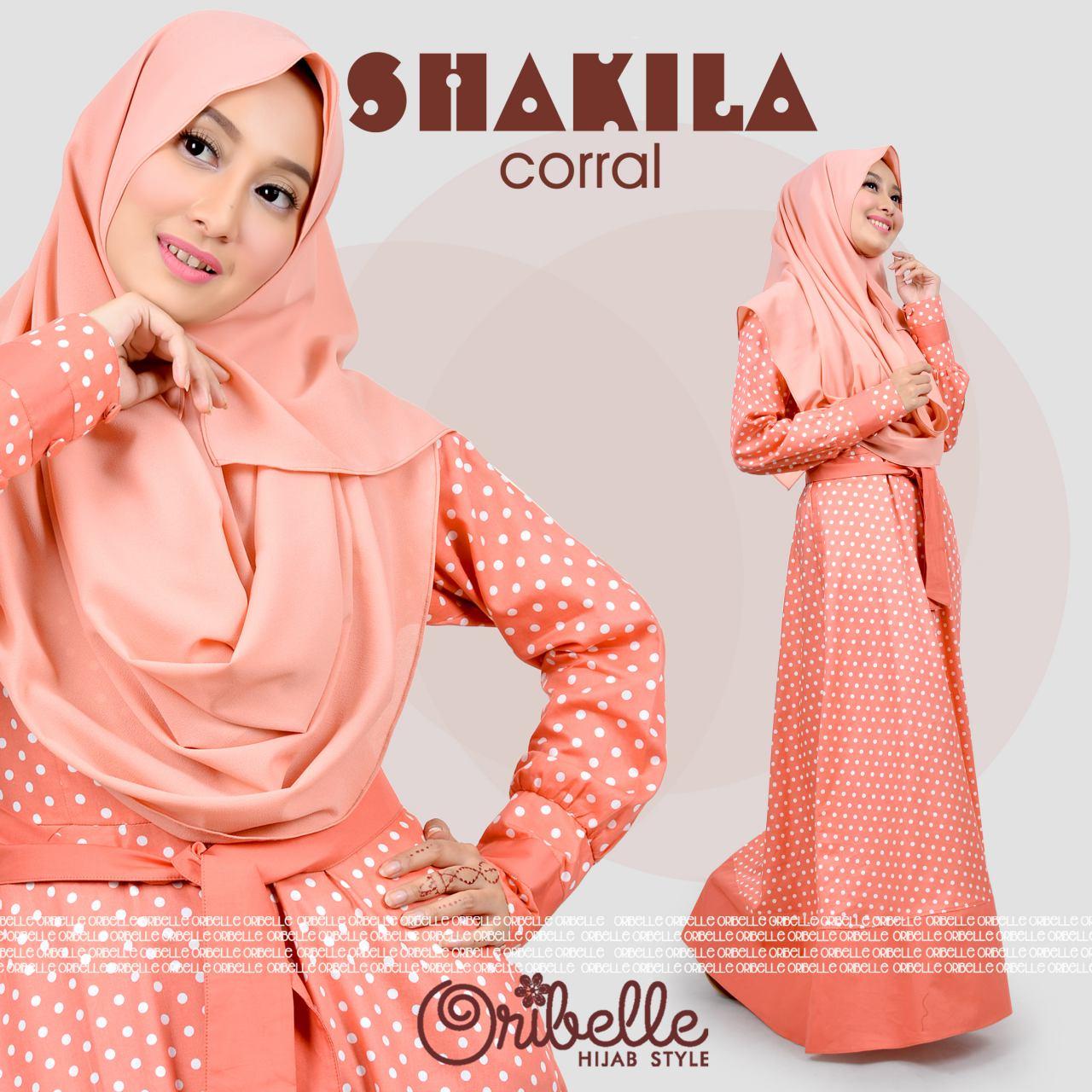 Jual Baju Hijab Jalan Jalan - Shakilla Dress By Oribelle