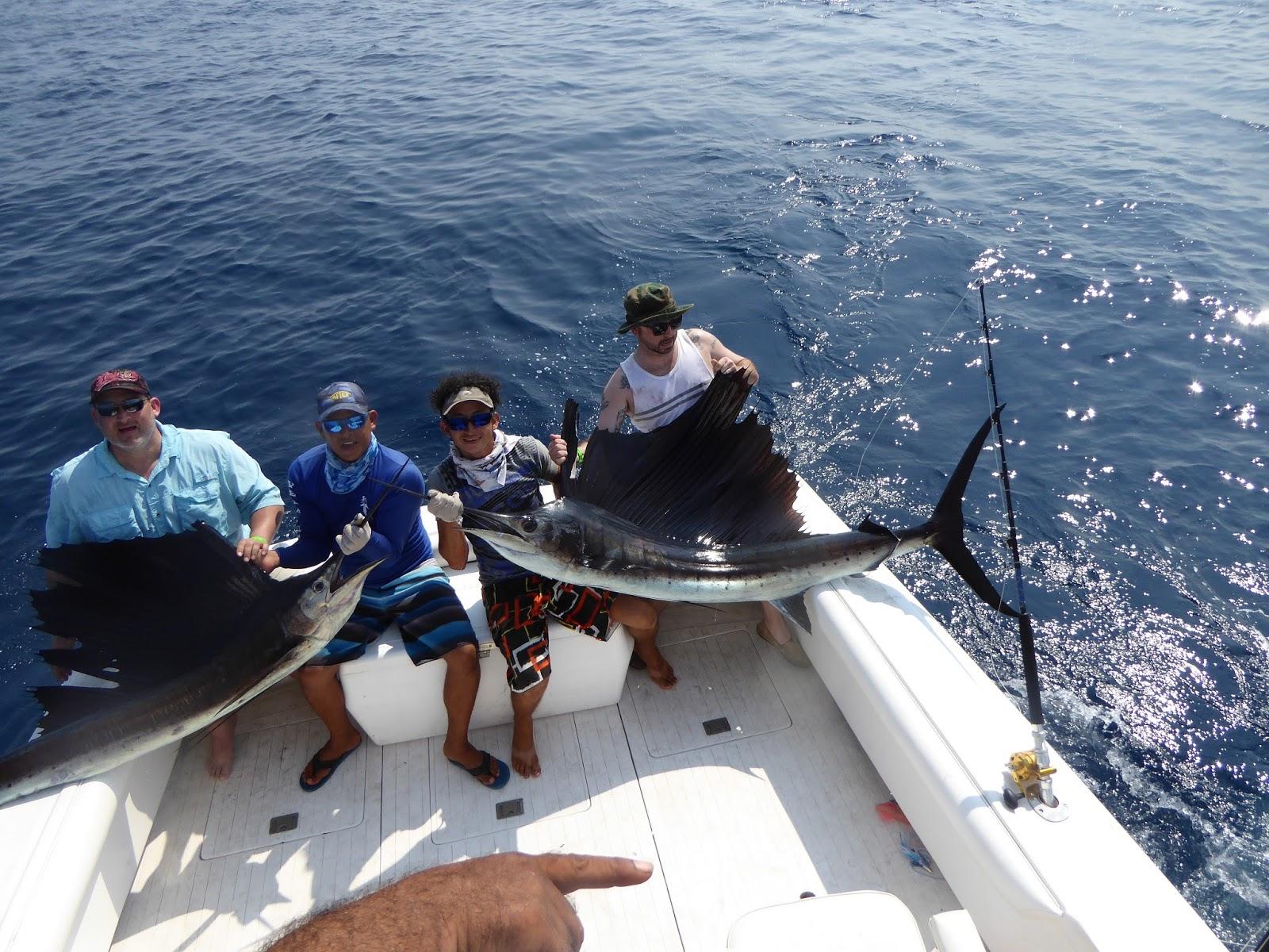 Mad marlin lodge sailfish marlin fishing charters for Best deep sea fishing