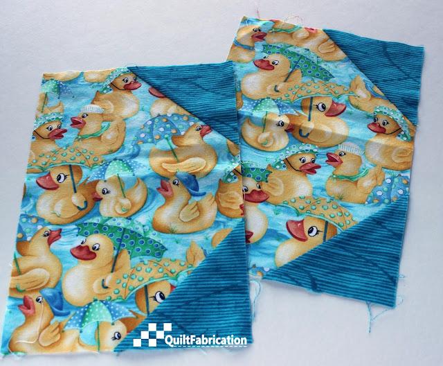duck scrap fabric