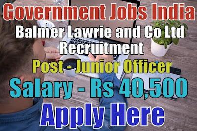 Balmer Lawrie Recruitment 2017 Apply Online Here