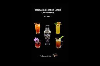libro bebidas con sabor latino