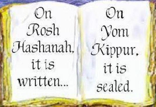 rosh hashanah and yom kippur erev yom kippur 2017