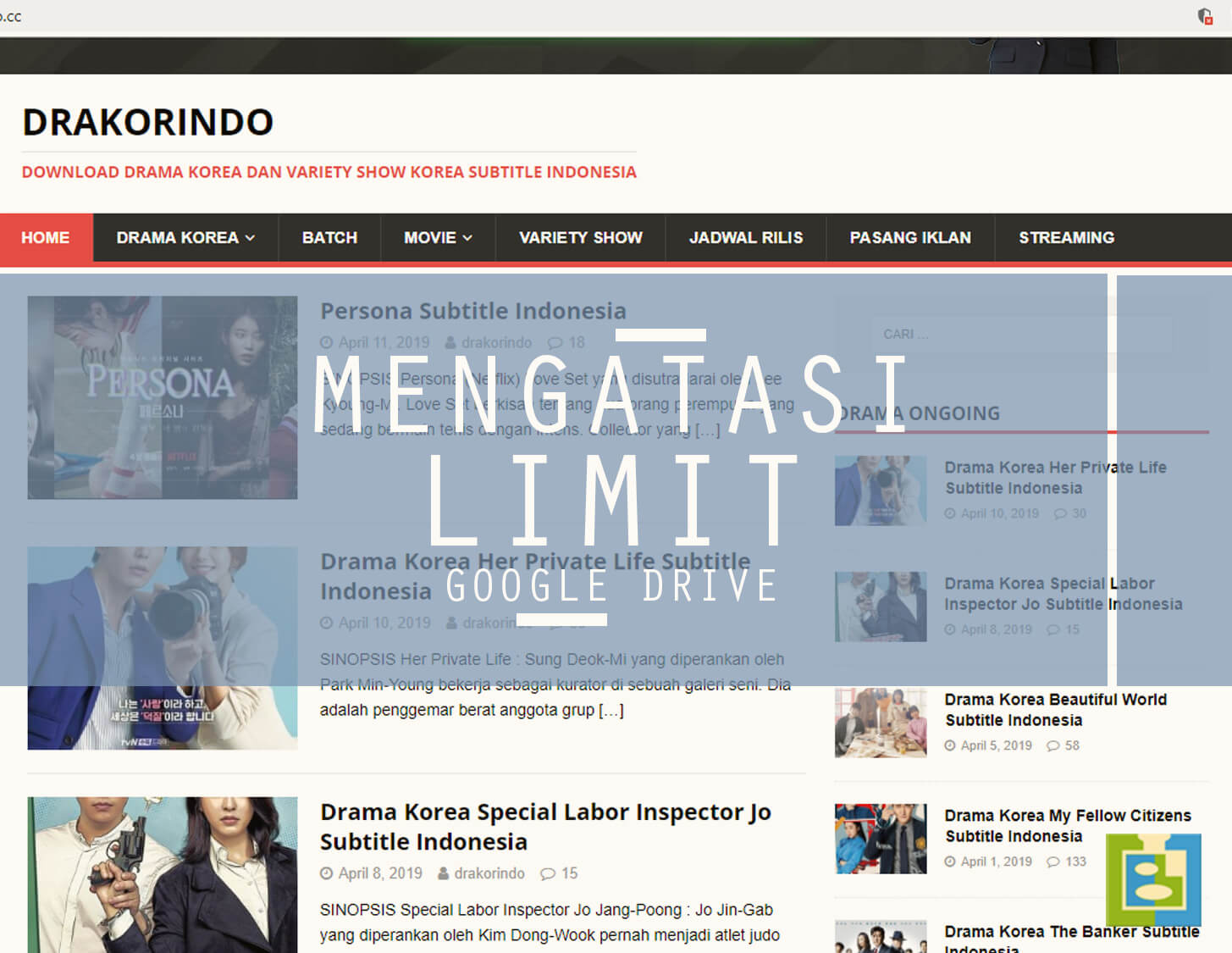 cara mengatasi limit download google drive android
