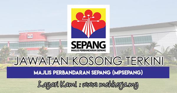 Jawatan Kosong Terkini 2018 di Majlis Perbandaran Sepang (MPSepang)