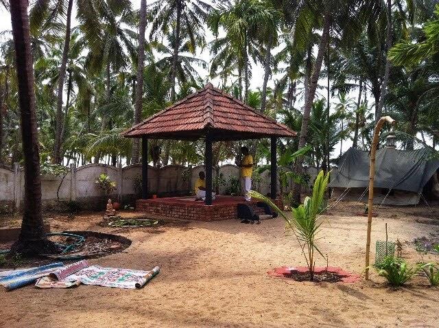 Arsha Yoga Ashram Garden