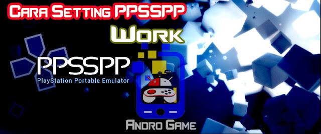 Setting Emulator PPSSPP