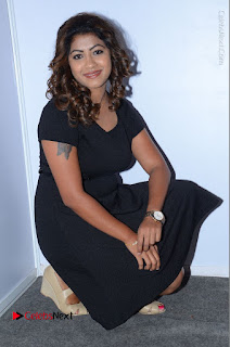 Tollywood Actress Geethanjali Thasya Latest Pos in Black Short Dress at Nanna Nenu Na Boyfriends Audio Launch  0041.JPG