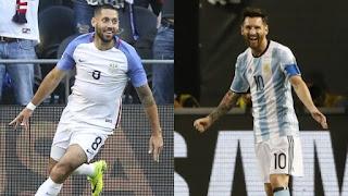 Estados Unidos vs Argentina, Copa América Centenario