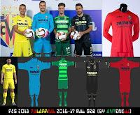 PES 2013 Villarreal Kits 2016-17 By Antonelli
