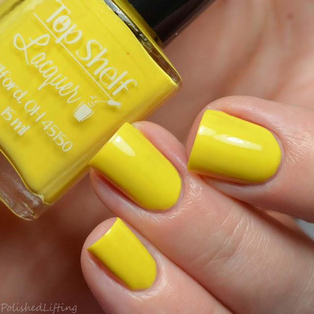 yellow creme nail polish