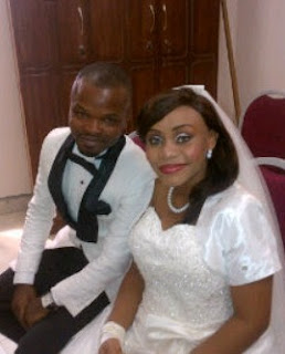 Nedu of Wazobia FM and wife welcome son
