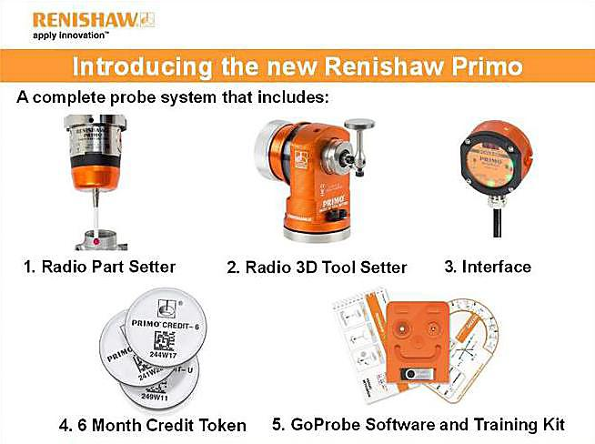Renishaw unveils Primo™ breakthrough business model of