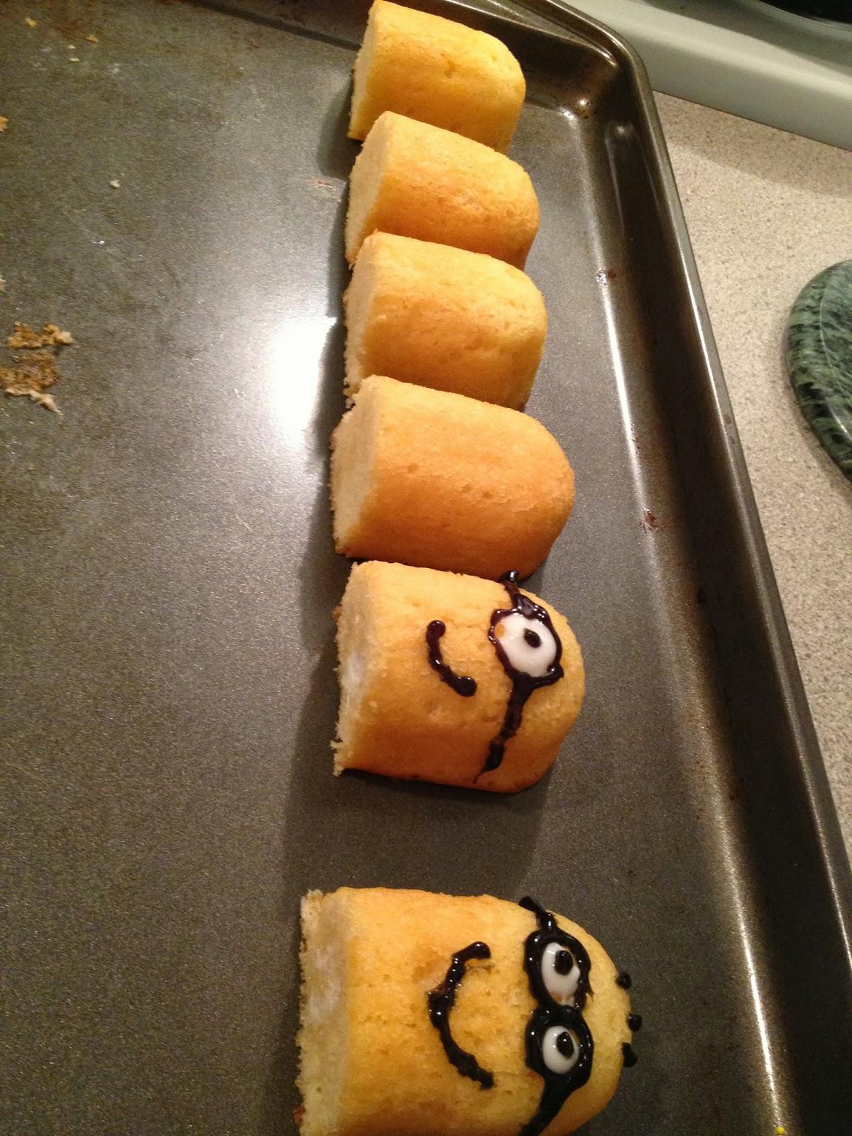 Showgirl Stories Minion Cupcakes