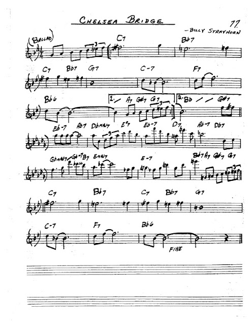 Partitura Saxofón Billy Strayhorn