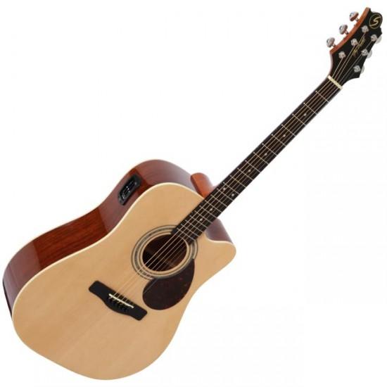 dan guitar samick d-2ce
